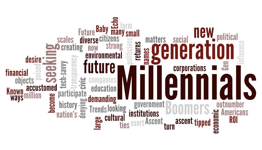 Millennials Collage